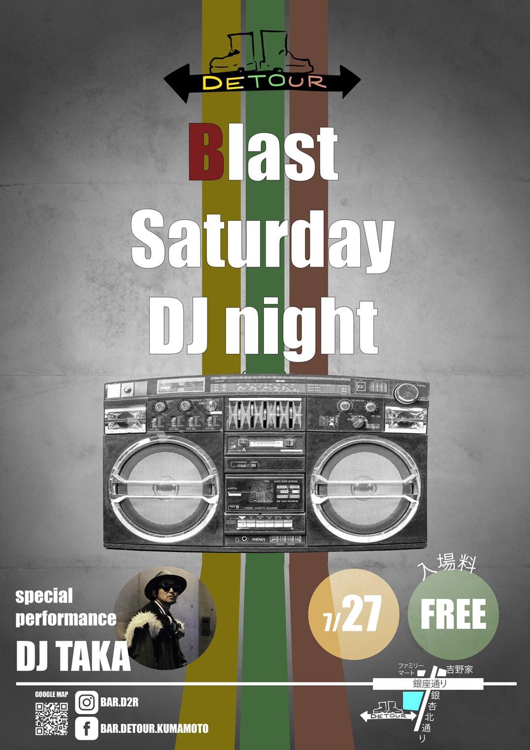 Blast Saturday